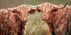 Companions by Debbie Boon - Limited Edition on Canvas sized 40x20 inches. Available from Whitewall Galleries